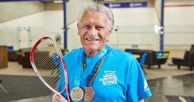 Brian Courts Success at 83