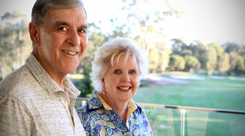 Olga Sales and her husband Michael
